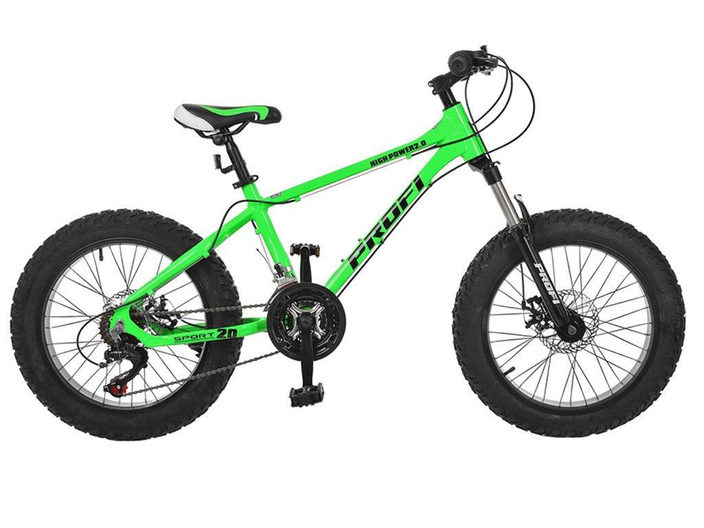 "Велосипед 2-х кол. Profi HIGH Power 20"" алюминиевая рама (EB20HIGHPOWER 2.0 A20)"