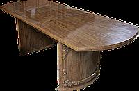 Стіл столовий розсувний, горіх (186*74,5*90см)