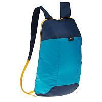 Легкий і компактний запасний рюкзак 10 літрів Синій