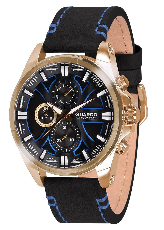 Часы мужские Guardo S1631-4 черные