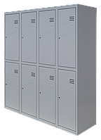 Шкаф для одежды разборной на восемь человек (1800х1200х500)
