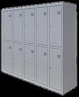 Шкаф для одежды разборной на десять человек (1800х1500х500)