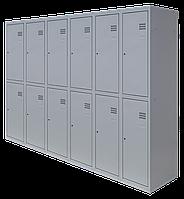 Шкаф для одежды разборной на двенадцать человек (1800х1800х500)