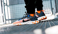 "Кроссовки Nike React Element 87 Thunder ""Blue/Total/Orange"", фото 1"