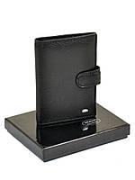 Обложка для паспорта кожа DR. BOND MP-1 black.Купить портмоне кожаные оптом и в розницу Одесса 7км