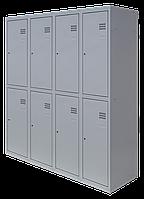 Шкаф для одежды разборной на восемь человек (1800х1600х500)