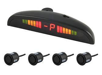 Парковочная система CYCLONE SK-4T / black парктроник (4 датчика, сенсора)