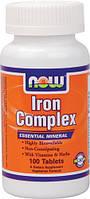 Облегчение менопаузы - Комплекс железа / Iron Complex, 100 таблеток
