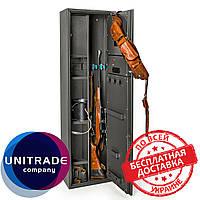 Оружейный сейф 137х39х25 см. Е-139К1 электронный замок для дома, офиса, в гостиницу для хранения оружия