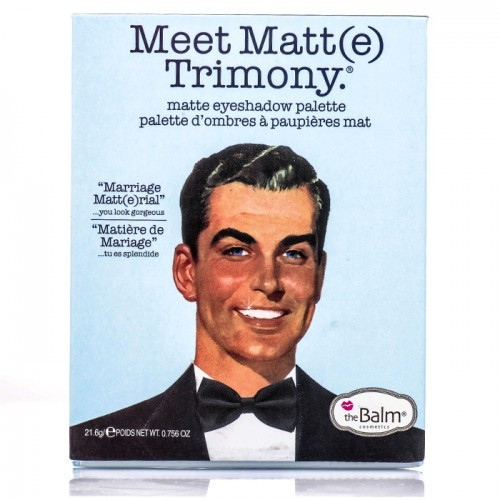 Набор теней The Balm Meet Matt(e) Trimony