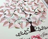 Свадебное дерево на 60 пожеланий