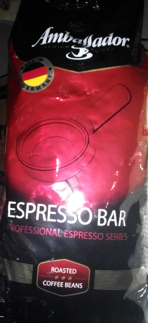 Кофе Ambassador Espresso Bar в зернах 1 кг