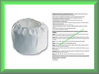 Фильтр мешок многоразовый матерчатый Bosch