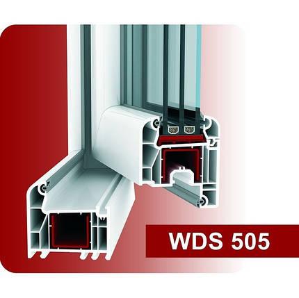 Металлопластиковые окна WDS 505, Харьков, фото 2