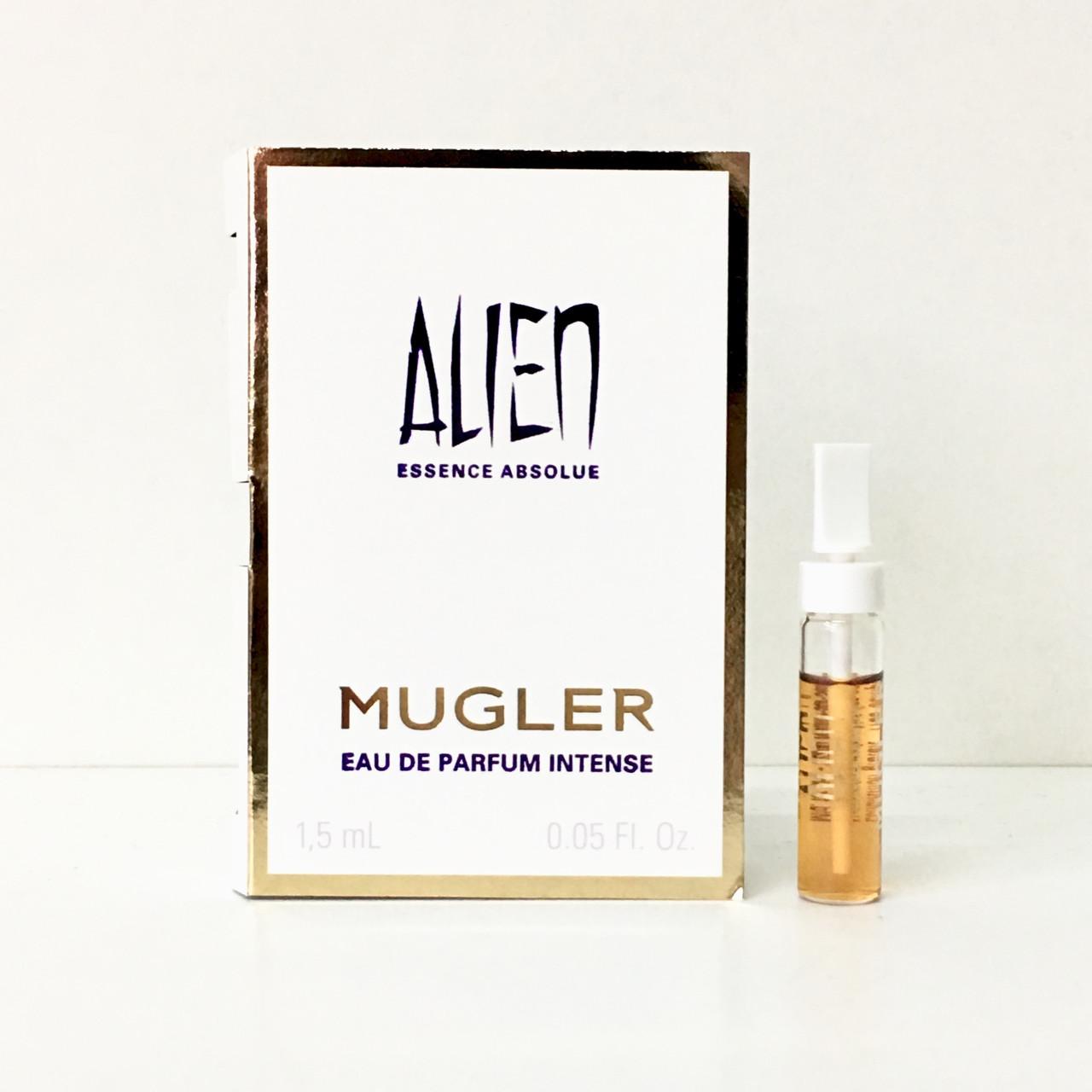 THIERRY MUGLER Alien Essence Absolue Intense ПРОБНИК 1,5ml, вечерний восточный аромат для женщин ОРИГИНАЛ