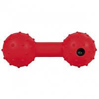 Игрушка для собаки Trixie Гантель литая с колокольчиком 12,5см (3335)