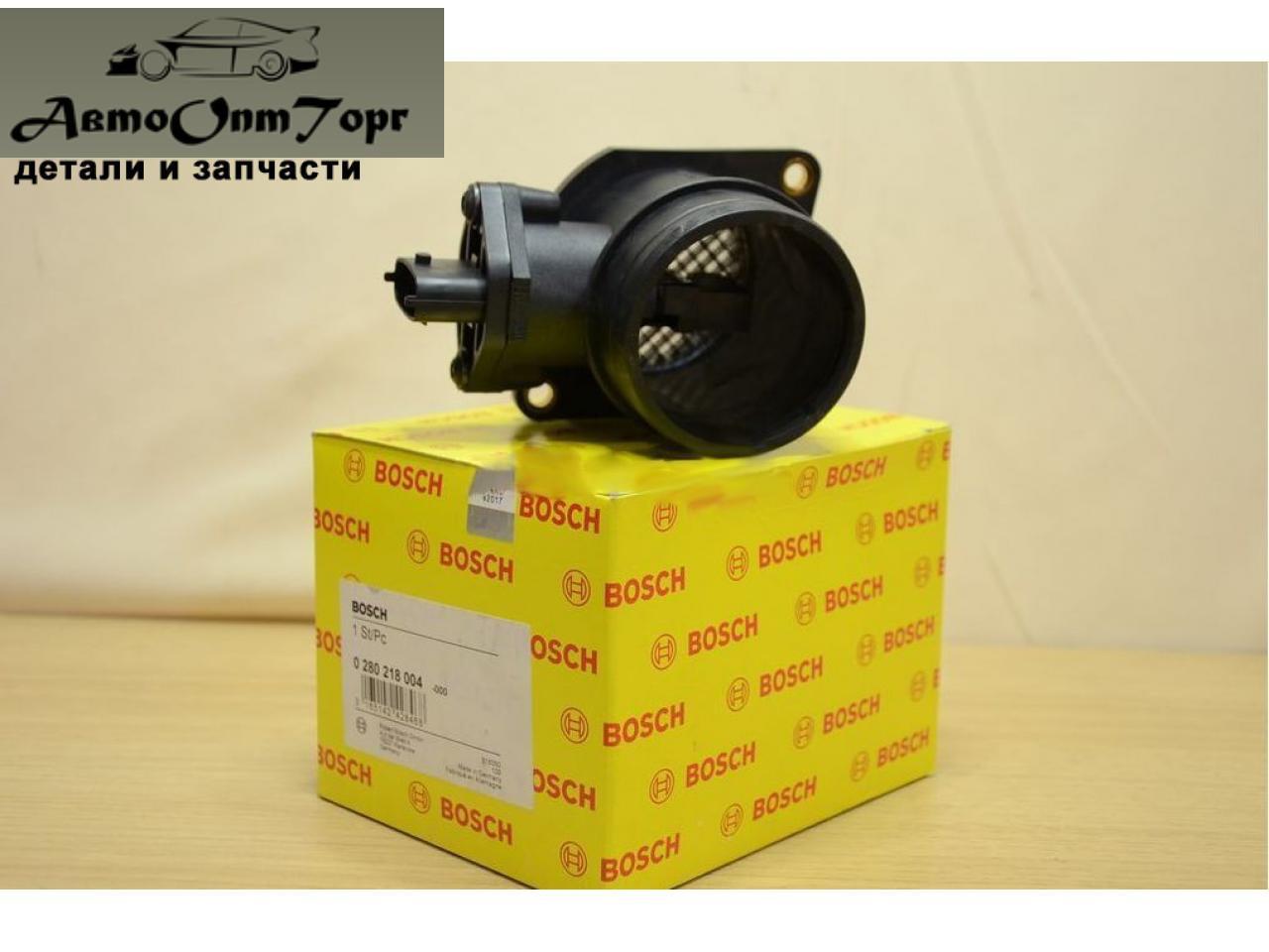 Датчик массового расхода воздуха ВАЗ 21102111,2112, (расходомер) произ-во Bosch (Бош), кат.код. 0280218-004;