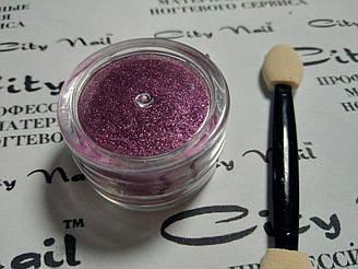 Металева втирка для нігтів рожева