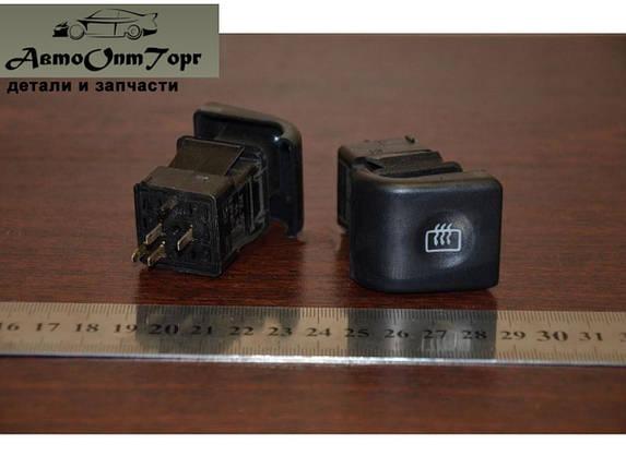 Кнопка обогрева заднего  стекла ВАЗ 2110,2111,2112, фото 2