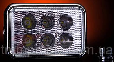 Фара квадратна LED ( 6 світлодіодів ) 18W спопеляючий світло !!!, фото 2