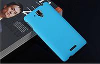 Чехол накладка бампер для Lenovo S8 S898T голубой, фото 1