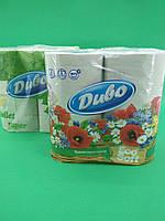 Туалетная бумага макулатурная серая Диво ( 4 шт/пач)