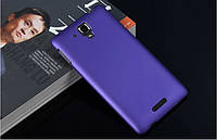 Чехол накладка бампер для Lenovo S8 S898T фиолетовый