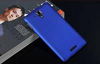 Чехол накладка бампер для Lenovo S8 S898T синий