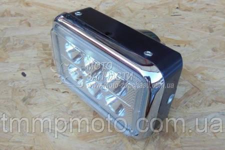 Світлодіодна Фара мото LED ( 6 світлодіодів ) 18W спопеляючий світло !!!
