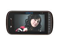 Домофон цветной Kenwei E703C - монитор (черный)