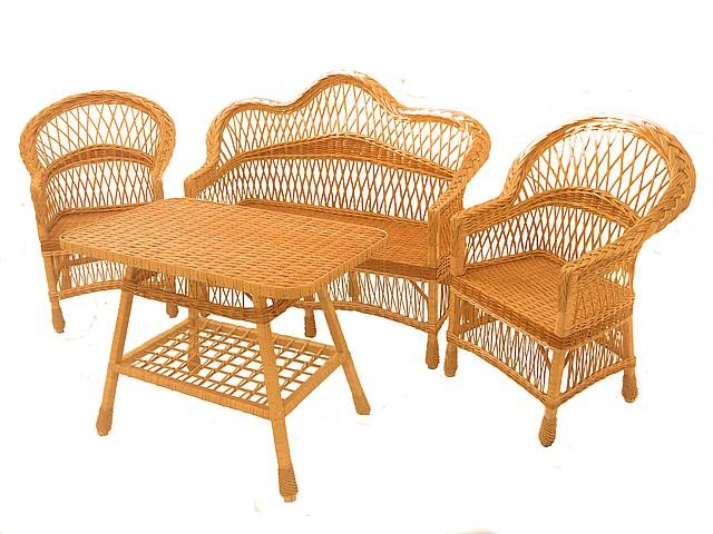 Комплекты плетеной мебели из лозы