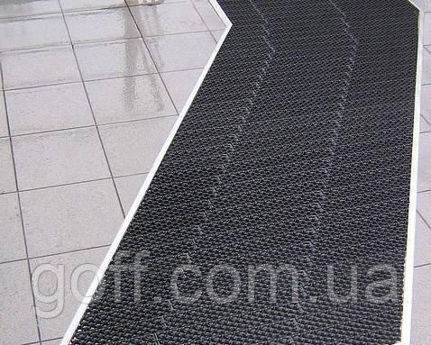 Резиновые грязезащитные коврики  Левада-М (черное)