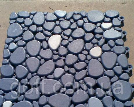 200х200х9мм Антиковзне покриття для підлоги у вигляді каменя