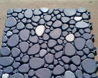 200х200х9мм Антиковзне покриття для підлоги у вигляді каменя, фото 1