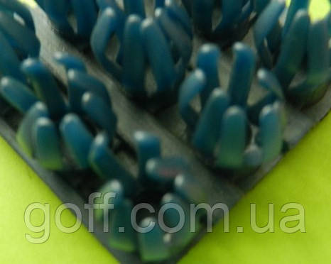 Щетинистое покрытие синий металлик  Прибалтика