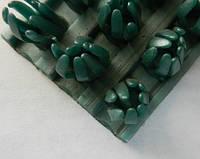 Щетинистое покрытие зеленый металлик  Прибалтика