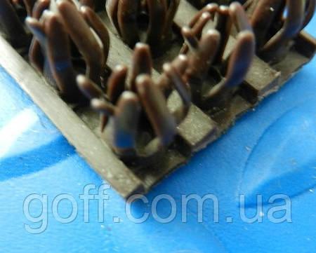 Щетинистое покрытие темно коричневый Прибалтика