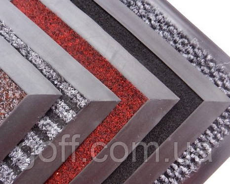 Коврики придверные на резиновой основе Флин