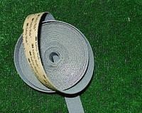 Антискользящая лента 25 мм эластичная серая