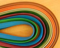 Цветное обрамление на коврики