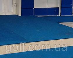 Резиновая плитка для спортивных дорожек