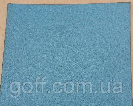Резиновая плитка для спортивных дорожек, фото 1