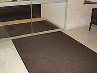 Коврик у двери «Поляна» (темно-коричневый)