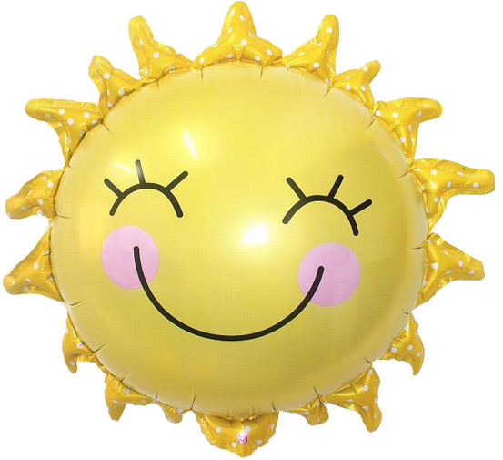 Фол куля фігура Сонце жовте (Китай)