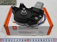 Мотор (электродвигатель с редуктором) стеклоподъемника правый ВАЗ 2110, 2111, 2112, Калина 1118, 1117, 1119, каталожный номер: 2110-3730610,