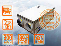 Рекуператор CLIMTEC РЦ 300 - для помещения до 120 м2, фото 1