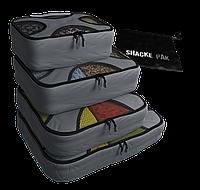 Дорожный органайзер для путешествий Shacke Pak (Серый) (SP001)