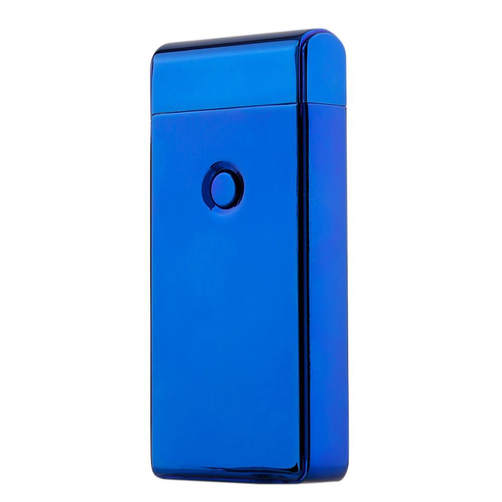 Электроимпульсная USB зажигалка SUNROZ 307 Синий (SUN1837)