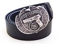 Мужской кожаный ремень Bodyguard, фото 1