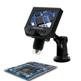 Цифровой микроскоп 600x с дисплеем E2360 эндоскоп бороскоп